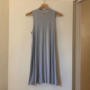 TopShop Powder Blue Jersey Dress